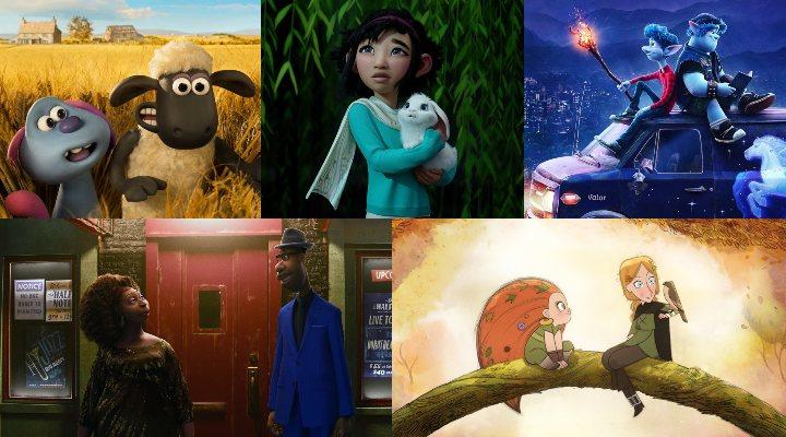 Nominadas al Oscar 2021 a la mejor película de animación