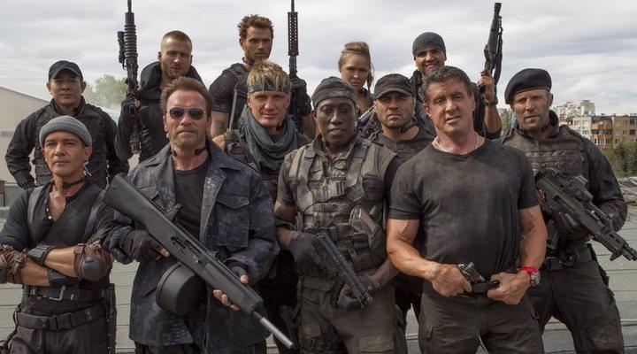 'Los mercenarios 3'