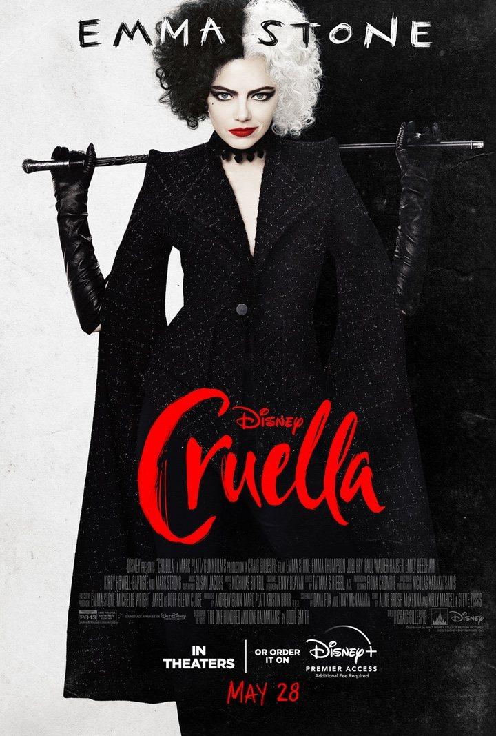 Nuevo póster de 'Cruella'