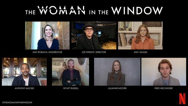 El equipo de 'La mujer en la ventana'