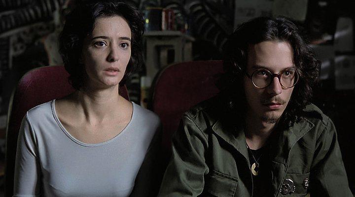 Ana Torrent y Fele Martínez en 'Tesis'