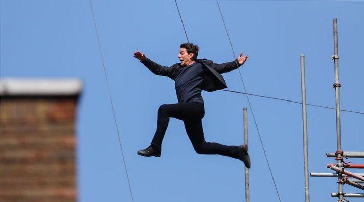 Tom Cruise rodando