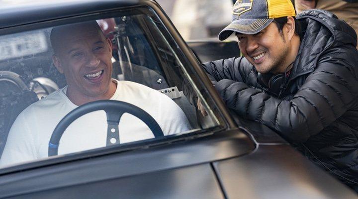 Vin Diesel y Justin Lin en 'Fast & Furious 9' (2021)