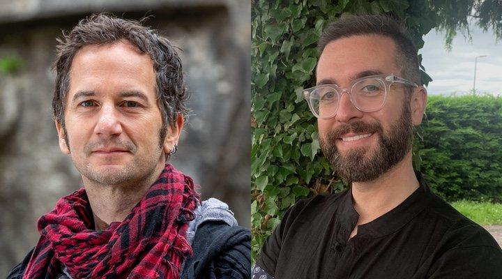 Ross Stewart y Tomm Moore, directores de 'Wolfwalkers'
