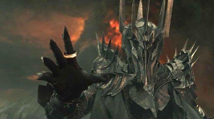 Sauron en 'El Señor de los Anillos'