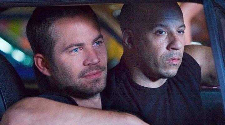 Paul Walker y Vin Diesel en 'Rápidos y Furiosos'