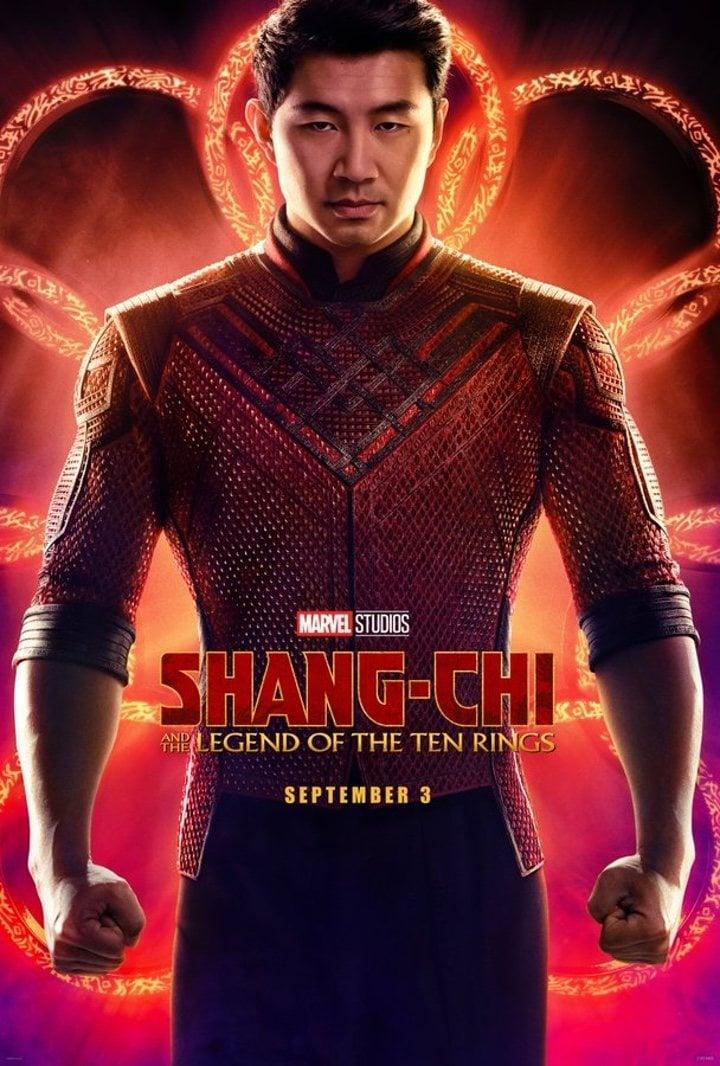 Póster 'Shang-Chi y la leyenda de los diez anillos'