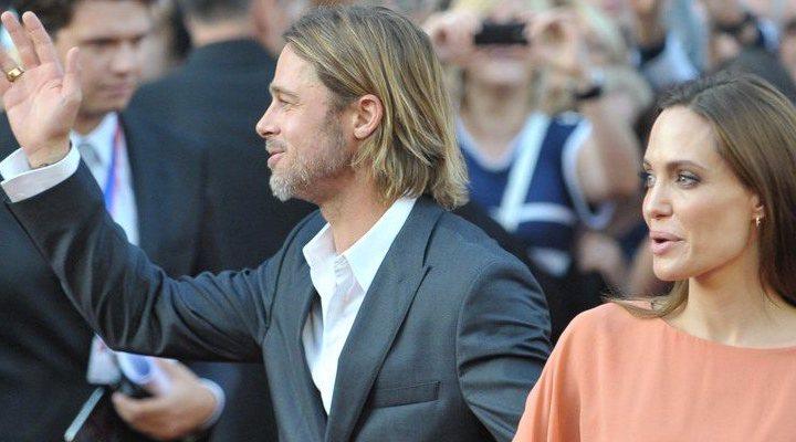 'Angelina Jolie y Brad Pitt'