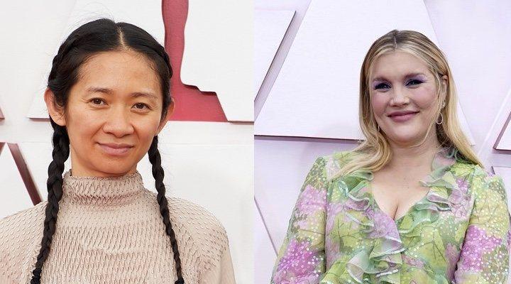Chloé Zhao y Emerald Fennel
