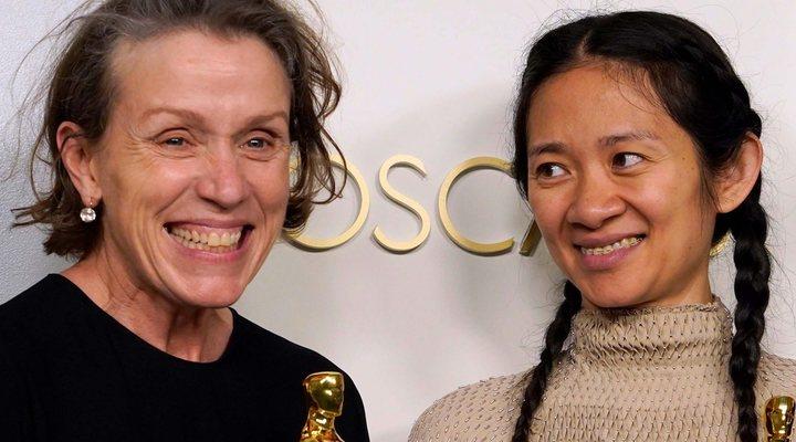 'Frances McDormand y Chloé Zhao'