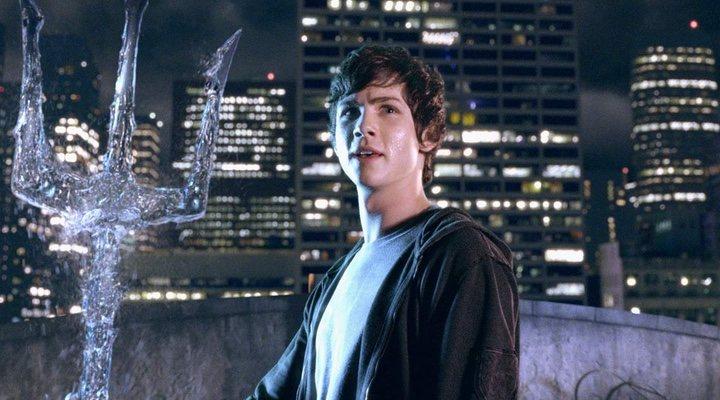 Logan Lerman en 'Percy Jackson y el ladrón del rayo'