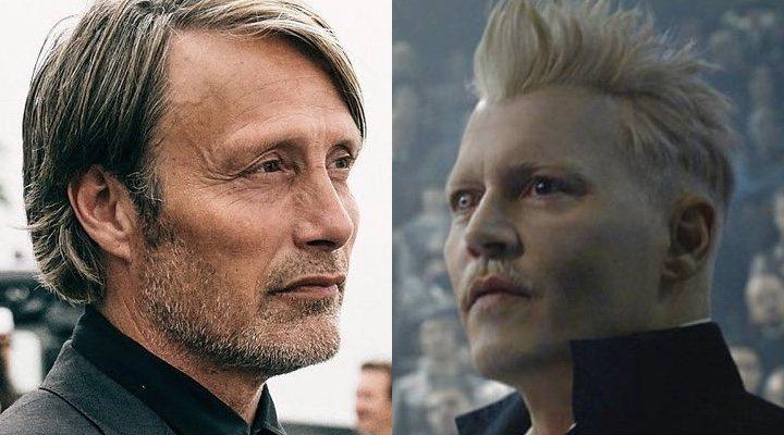 Mads Mikkelsen y Johnny Depp