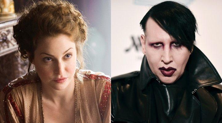 Marilyn Manson y Esmé Bianco