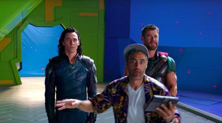 Rodaje 'Thor'
