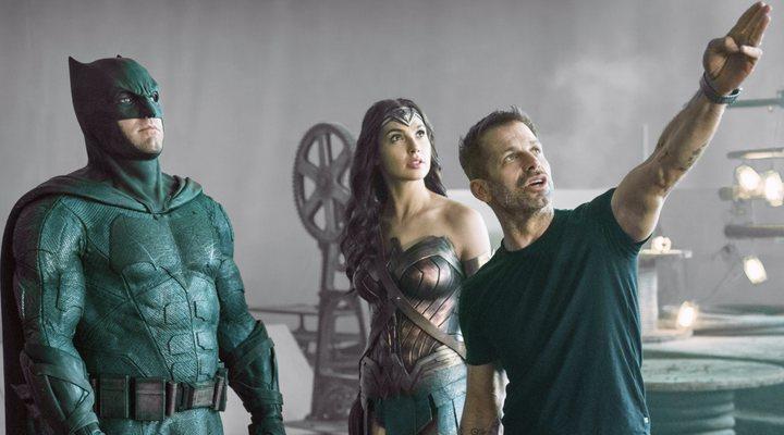 Zack Snyder en 'Liga de la Justicia'