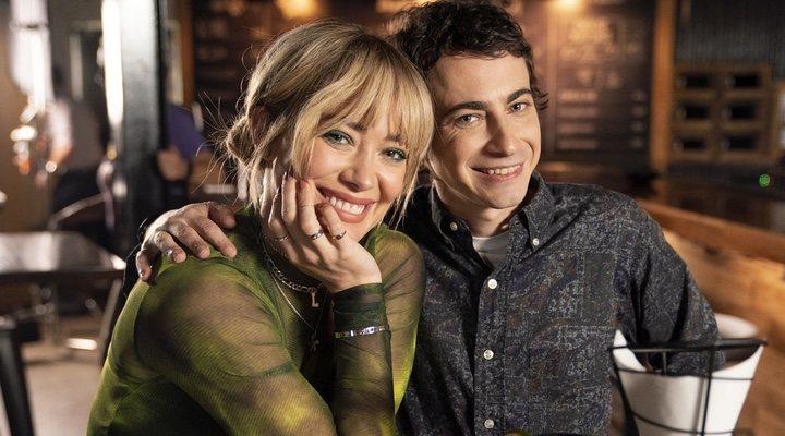Hilary Duff y Adam Lamberg en 'Lizzie McGuire'