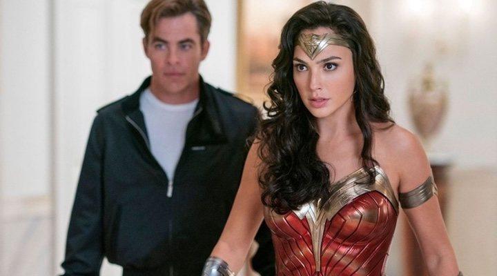 Chris Pine y Gal Gadot en 'Wonder Woman 1984'