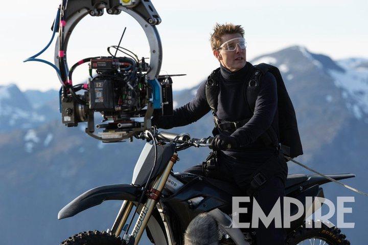 Tom Cruise en 'Misión Imposible 7'