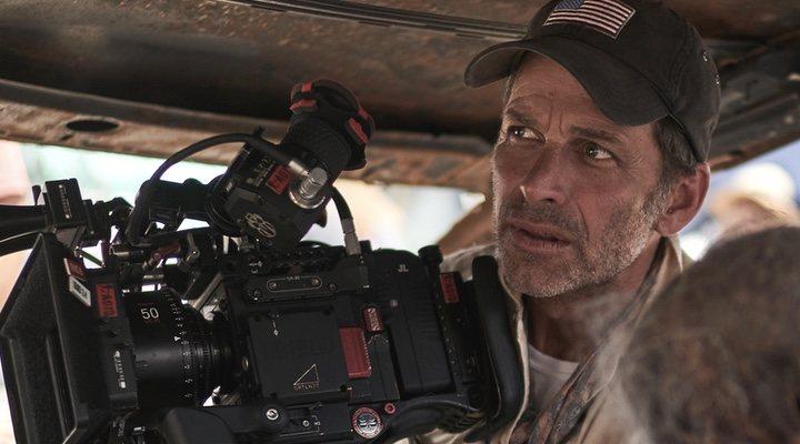 Zack Snyder en el rodaje de 'Ejército de los muertos'