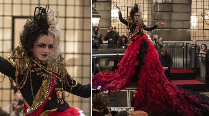 'Cruella': Jenny Beavan, diseñadora de vestuario, y los secretos de esos vestidos imposibles que luce Emma Stone