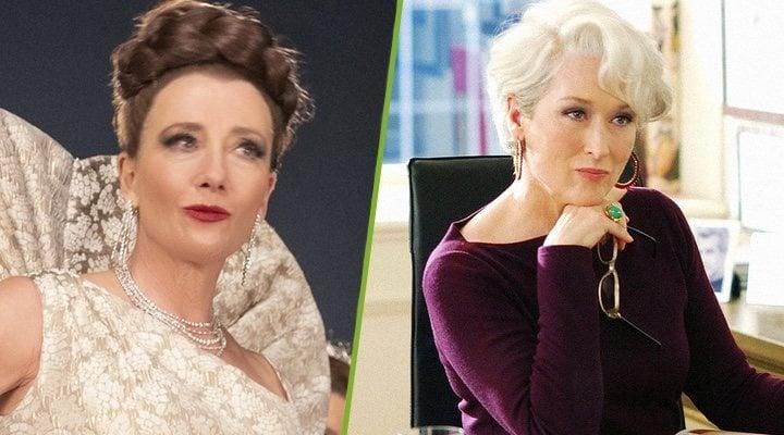 Emma Thompson en 'Cruella' y Meryl Streep en 'El diablo viste de Prada'