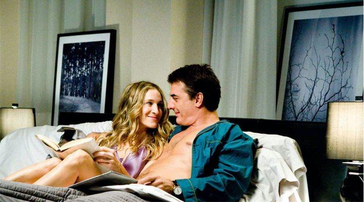 Sarah Jessica Parker y Chris Noth en 'Sexo en Nueva York'