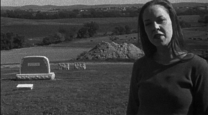 Heather Donahue en 'el proyecto de la bruja de Blair