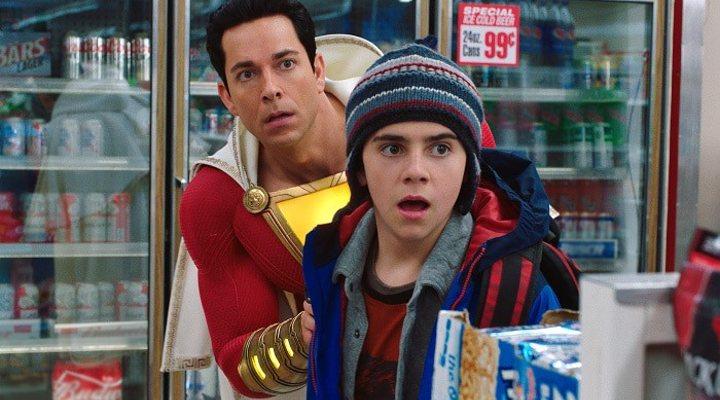 Asher Angel y Zachary Levy en 'Shazam'