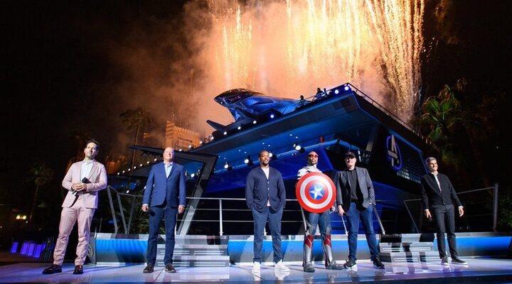 Inauguración del Campus Vengadores de Disney California Adventure