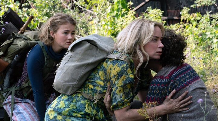 Emily Blunt en 'Un lugar tranquilo 2' (2021)