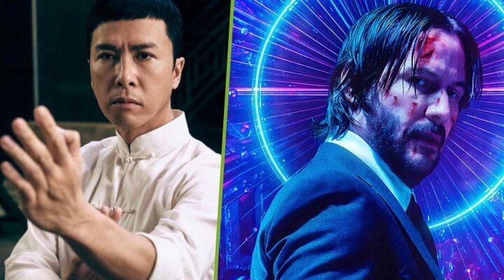 Donnie Yen y Keanu Reeves