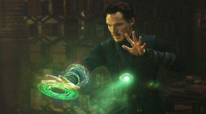 Benedict Cumberbatch en 'Doctor Strange (Doctor Extraño)'