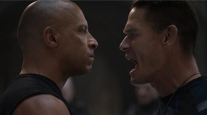 Vin Diesel y John Cena en 'Rápidos y furiosos 9'