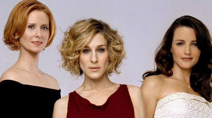 Cynthia Nixon, Sarah Jessica Parker y Kristin Davis en 'Sexo en Nueva York'