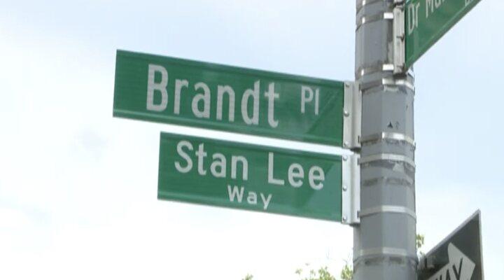 Stan Lee calle Nueva York Stan Lee Way