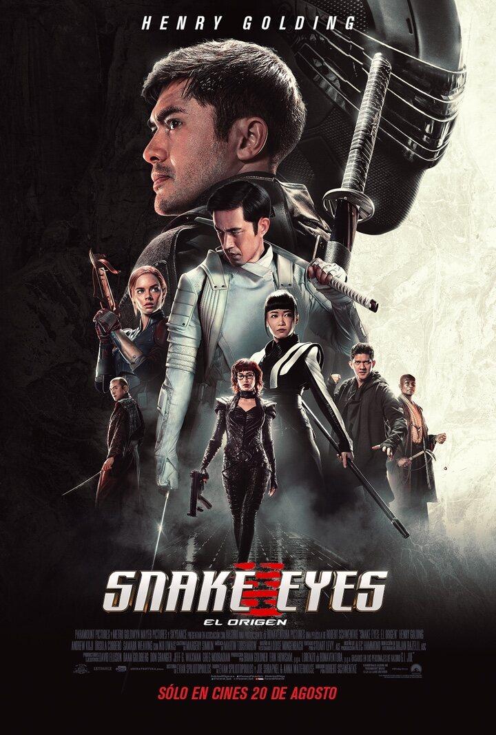Póster 'Snake Eyes: El origen'