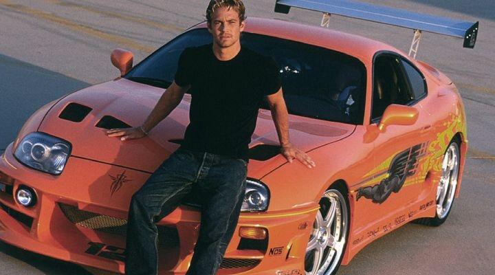 Paul Walker y su Toyota Supra en 'Fast & Furious'