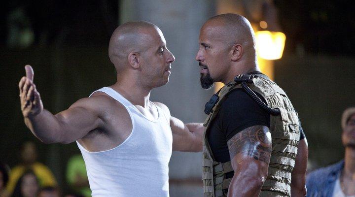 Vin Diesel tuvo y Dwayne Johnson