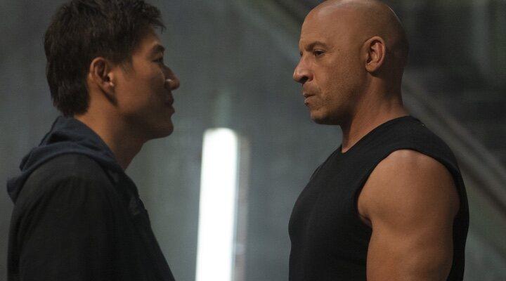 Sung Kang y Vin Diesel en 'Rápidos y Furiosos 9' (2021)