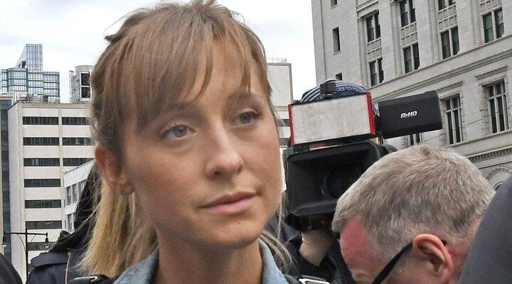 Allison Mack en el juicio en 2019