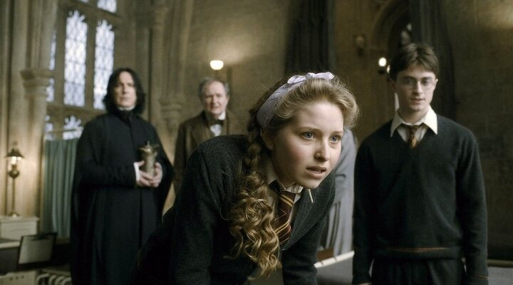 Jessie Cave en 'Harry Potter'