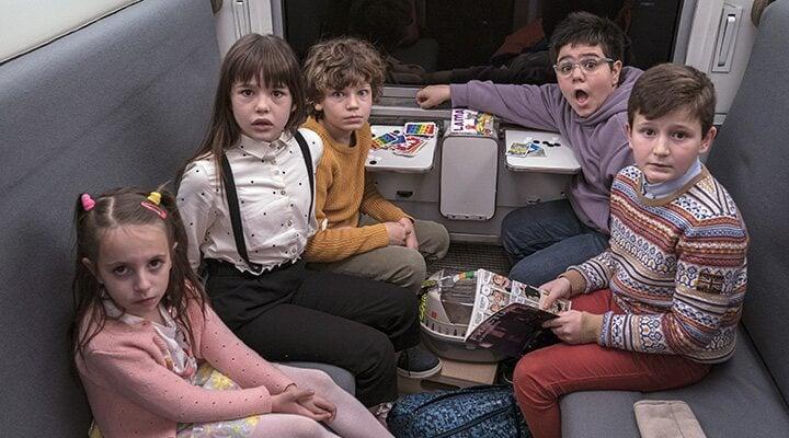 Los niños y niñas de ¡A todo tren!'