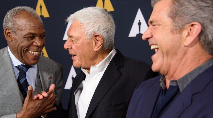 Donald Glover, Richard Donner y Mel Gibson