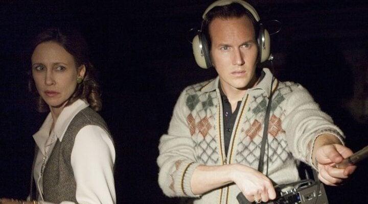 Vera Farminga y Patrick Wilson en 'Expediente Warren: The Conjuring'