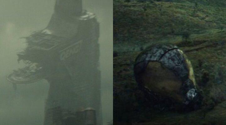 La torre Qeng y la máscara de Yellowjacket en 'Loki'