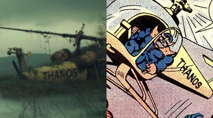 El helicóptero de Thanos en 'Loki'