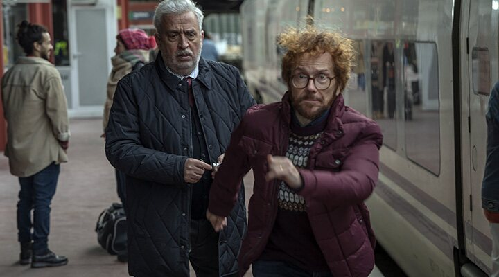 Santiago Segura y Leo Harlem en 'A todo tren'