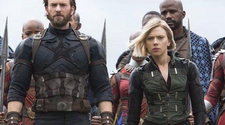 Scarlett Johansson en 'Avengers: Infinity War'