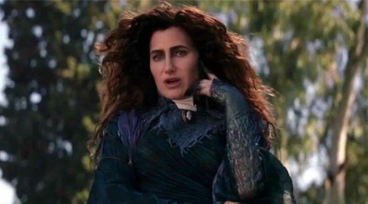 Kathryn Hahn como Agatha Harkness en 'Bruja Escarlata y Visión'