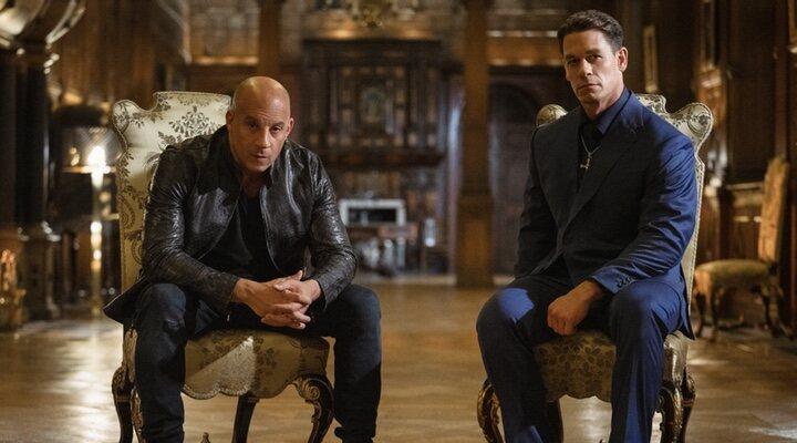 Vin Diesel y John Cena en 'Fast & Furious 9' (2021)